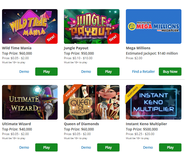 Michigan Lottery Promo Code 2019: Enter PLAYMAX