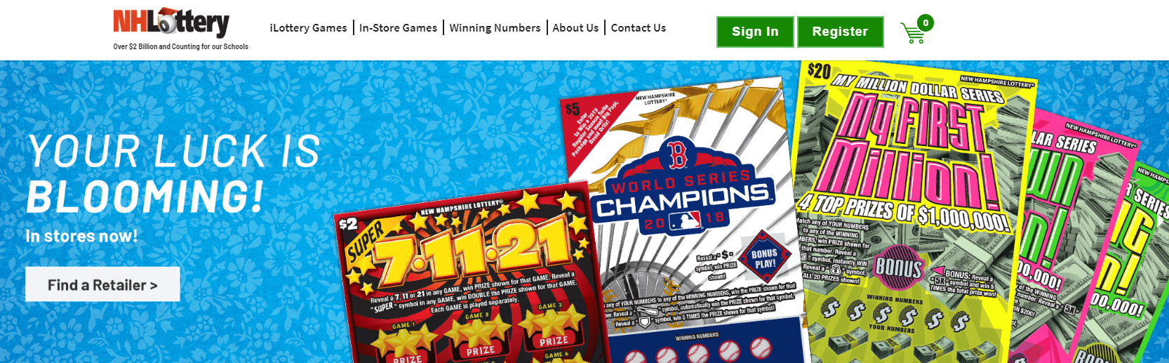 New Hampshire Lottery Promo Code 2019